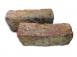 Oude klampsteen - donker - rijnvorm